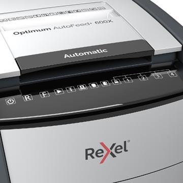 Rexel Optimum Auto+ 600X destructeur de documents