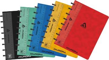 Adoc Classic cahier, ft A5, 144 pages, quadrillé commercial, couleurs assorties