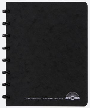 Atoma meetingbook, ft A5, noir, quadrillé 5 mm