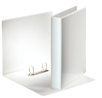 Esselte classeur à anneaux personnalisable, dos de 5,1 cm, 2 anneaux en D de 30 mm, blanc