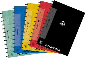Adoc Classic cahier, ft A4, 144 pages, ligné, couleurs assorties