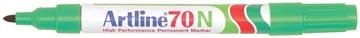 Marqueur permanent Artline 70, vert