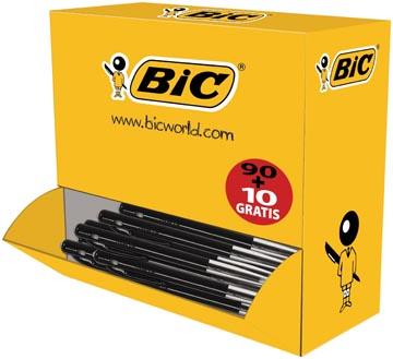 Bic stylo bille M10 Clic, noir, offre spéciale
