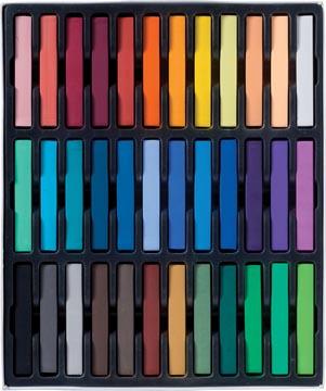 Talens Art Creation pastels douce, boîte de 36 pièces en couleurs assorties