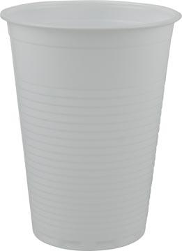 Gobelet en polystyrène pour des boissons froides, 180 ml, blanc, paquet de 85 pièces