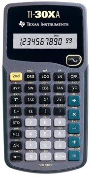 Texas calculatrice scientifique TI-30XA