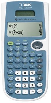 Texas Calculatrice scientifique TI-30XS Multiview, alimentation solaire et par piles