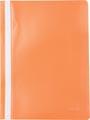 Pergamy farde à devis, ft A4, PP, paquet de 5 pièces, orange